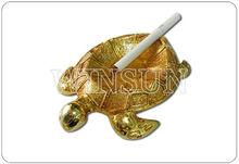 glazed animal turtle shape ashtray