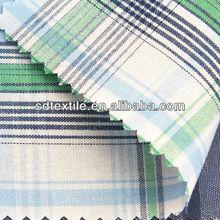 yarn dyed cotton fabric big checks