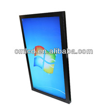 PC Inside 55 Inch lcd screen electronic supermarket promotion display