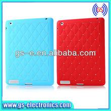 New design 2013 babysbreath sillicon case for ipad mini