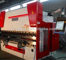 CNC Press Brake with DA69T 6+1 axis control, CNC Plate Bending Machine with Servo Motor Back Gauge 100T3100, 100T4000