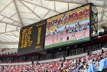 stadium display, tableau pour stade