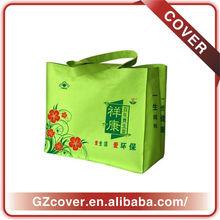 design printing pp non woven bag BOPP laminated fashion reusable pp non woven shopping bags