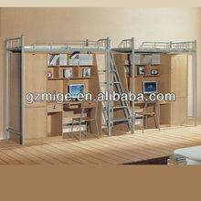 2013 fashion design student dormitory bunk bed in school furniture