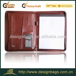 A4 Portfolio/Folder with zipper/folder with organizer