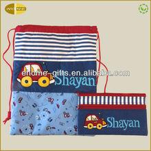 Drawstring Backpack Travel Tote Messenger Bag