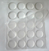 "Wholesale 1"" Clear Epoxy Sticker For DIY Bottle Caps Craft"