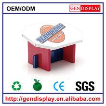 GEN-CF001 recyclable corrugated kids cardboard furniture