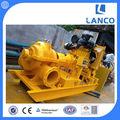 Motor diesel de desagüe de doble succión de la bomba/motor diesel de la bomba de agua conjunto