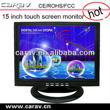 highly active lcd touch screen monitor supports windows XP or 7 operation system