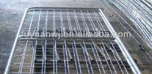 factory design galvanized steel farm gate in good quality