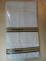 100% cotton handkerchief 38*38cm Africa