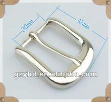 fashion cast belt buckle for bag metal fitting