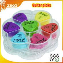 ziko custom colorful blank guitar picks