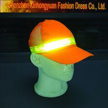 fashion custom reflective caps