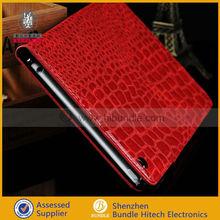 For iPad Mini Crocodile Leather Case,Book Leather Stand Case for Ipad Mini 7.9''