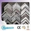 De hierro de precio de acero inoxidable laminados en caliente barra de ángulo de