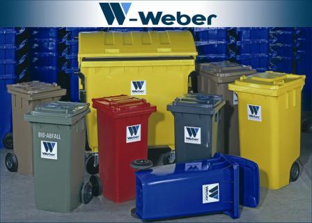 حاوية النفايات