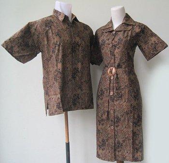 Sarimbit Batik Tali Depan