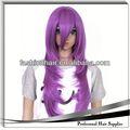 2014 cosplay perruque de mode en chine, brésilienne cheveux vierges, kms cheveux yiwu produits pour les cheveux
