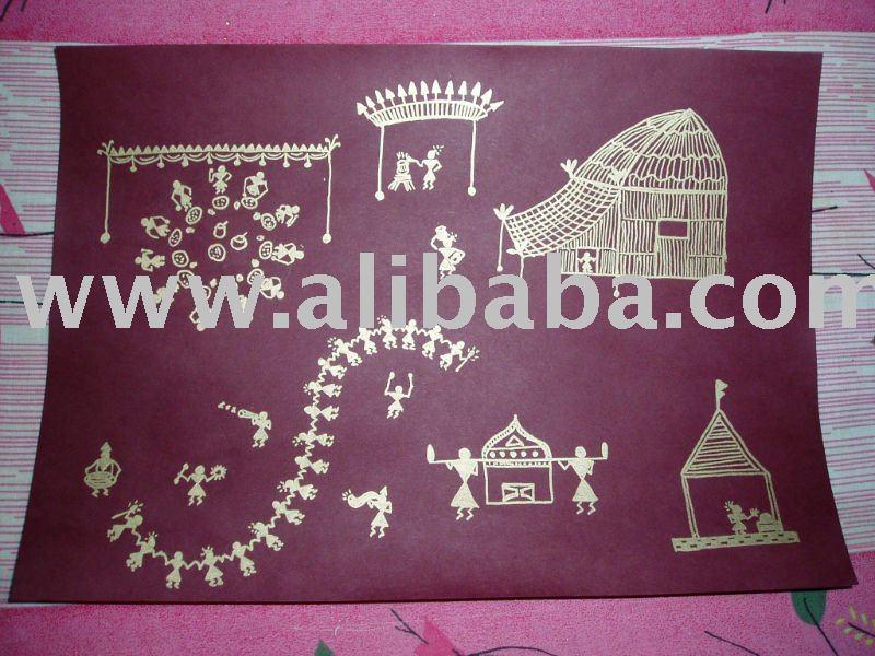 Warli Painting,Warli Painting Wholesale,Warli Painting