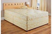 "Katie Double 4ft 6"" Blank Divan Bed and Mattress"