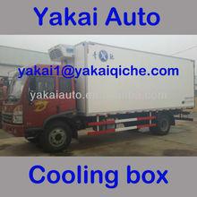 Electric cargo truck box