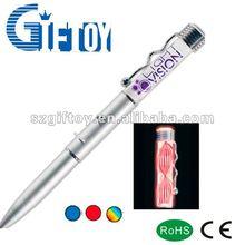 novelty flashing ball pen