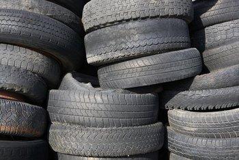 Waste Tire Scraps