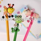 Cute Insert Topper Craft Pencils, 3 pcs / Pack, Great stationery