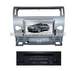 Citroen C-QUATER/C4 7.0 Inch TFT screen car DVD player