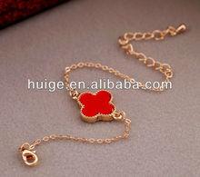 Vintage Heart Clover Chain Bracelets