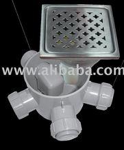PVC - PP siphon INOX 304