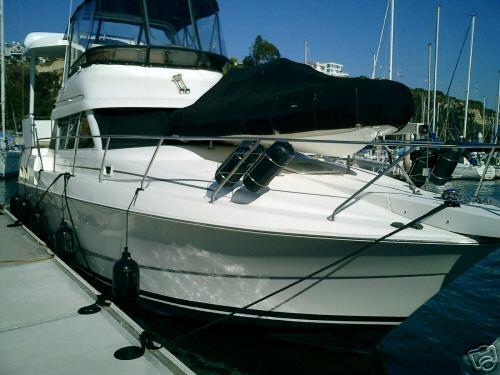 1996 Silverton 34 Aft Cabin Motor Yacht Boat Twin Engine Ga