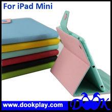 Flip Case For iPad mini Cute Folio Leather Cover for mini iPad with stylus