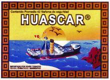 Fosforos Huascar Safety Matches
