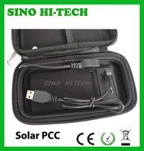 eGo PCC,eGo 510 PCC Solar Charger Leather Box,High Quality PCC Charger eGo Vaporizer