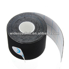 Elastic adhesive kinesio tape shoulder 5cmX5m black