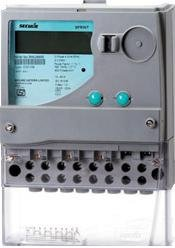 3 Phase 4 Wire Double Tarrif Whole Current Energy Meter