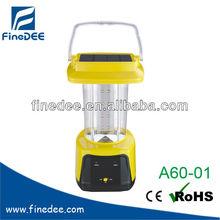 A60-01 Rechargebale Solar Powered Lantern