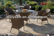 4 seater wicker pro garden chairs
