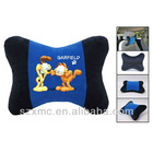 microbeads filling neck support bone massage car/travel /seat pillow