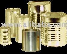Metal packaging cans