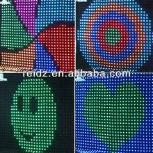 Fibre optic lighting star cloth LED star cloth 2*3meter mixed RGB/led star cloth backdrop