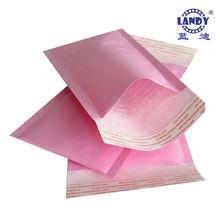 Pink Kraft Paper Mailing Bubble Envelope