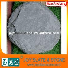 natural round slate tumbled stones