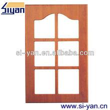 half glass kerala wooden doors