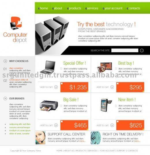 commerce website design products, buy e commerce website design ...