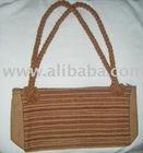 PERUVIAN 100% HANDMADE Natural Color Grown Cotton Bag