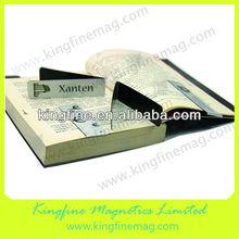 Folding paper magnetic bookmark,creative bookmark,creative design bookmarks